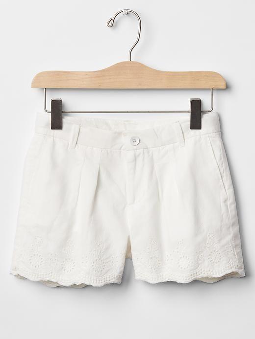 Eyelet shorts Product Image