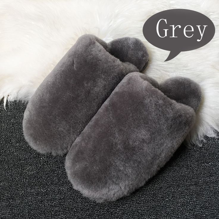 15 Color Winter Warm Cute House Slippers Women Indoor Fashion Furry Sheepskin Slippers Unisex Home Slippers Men Free Shipping