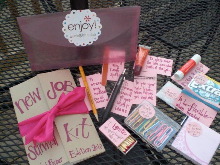 Best 25+ New job survival kit ideas on Pinterest   New job gift ...