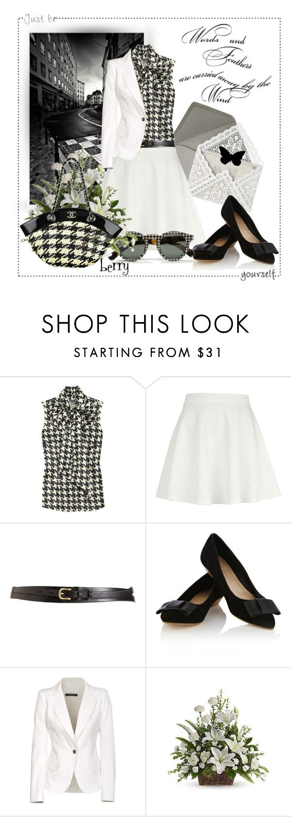 """""""Checkered Past?"""" by berry1975 ❤ liked on Polyvore featuring Roxy, Martha Stewart, Alexander McQueen, River Island, rag & bone, Oasis, Plein Sud Jeanius, Ralph Lauren and Chanel"""