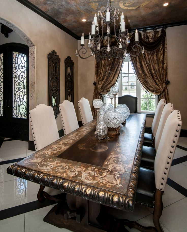 DRAPERY Reilly Chance Luxury Draperies And Window Treatments Order Today Receive Them Tuscan Dining RoomsFrench