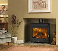 Burley stove:Wakerley 9112 stove buy now at Boston heating for lowest UK prices!