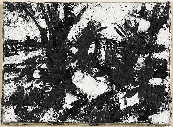 John Virtue (British, b. 1947) Landscape No. 256,