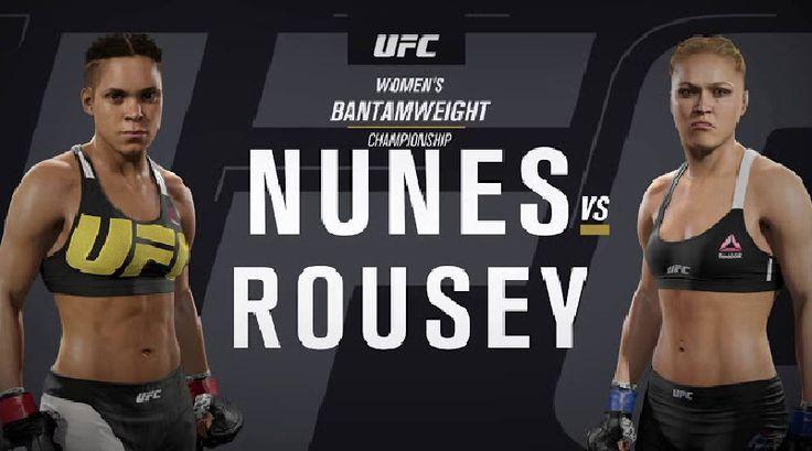 UFC 207 Nunes vs Rousey fight card