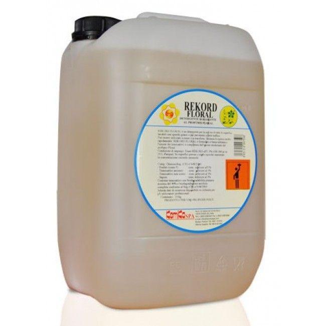 Check Out Our Awesome Product: Detergente Pavimenti Rekord >>>>>>REKORD è un detergente concentrato per la pulizia di tutte le superfici lavabili, particolarmente sporche.    Disponibile in taniche da 5 litri.