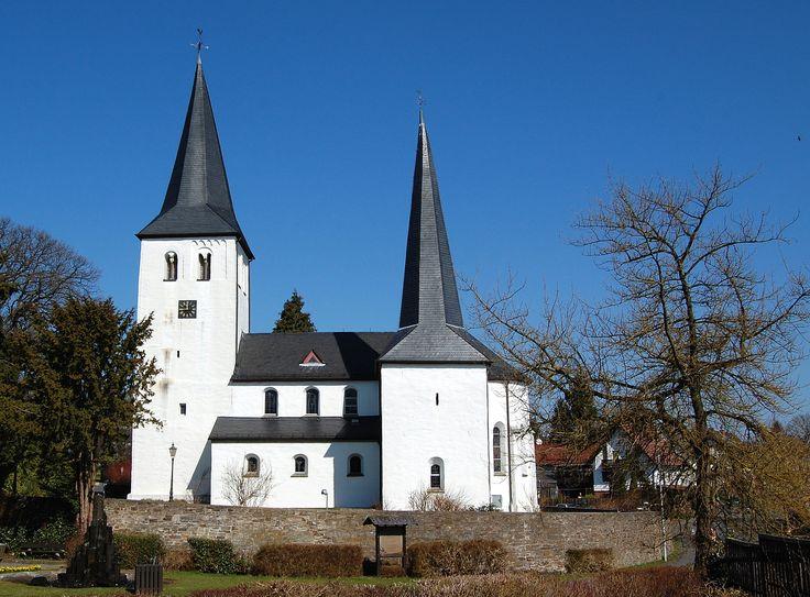 Windeck-Leuschied, Evan. kirche (Rhein-Sieg-Kreis) NRW DE