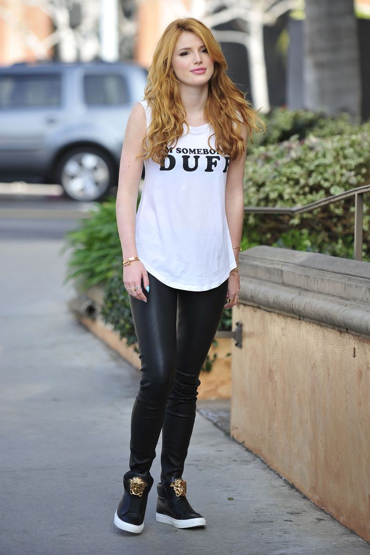 Bella Thorne - The DUFF Press Day 1/21/2015