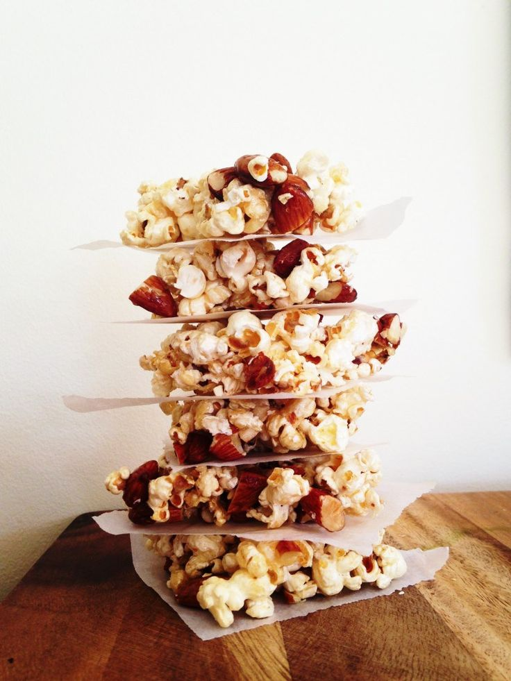 Popcorn and Almond Crunch recipe + a giveaway! - I Quit Sugar
