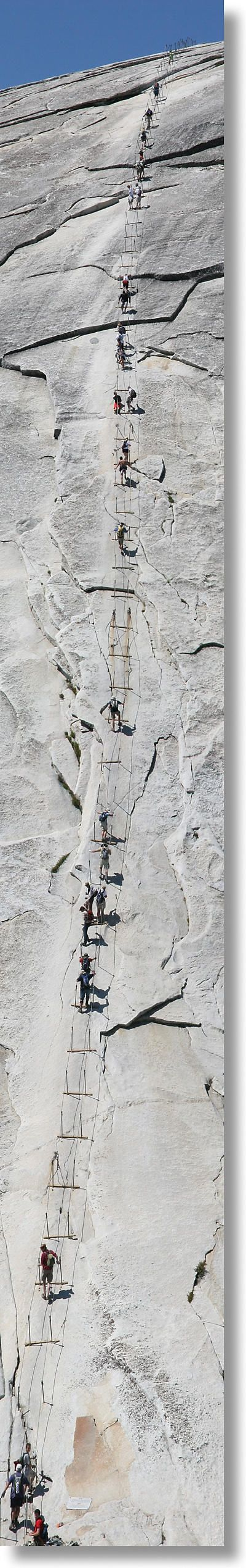 Half Dome Yosemite Park -- MUST do this climb!