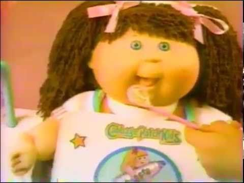 1992 Cabbage Patch Kids Dental Care Center Toy Commercial by Hasbro - YouTube