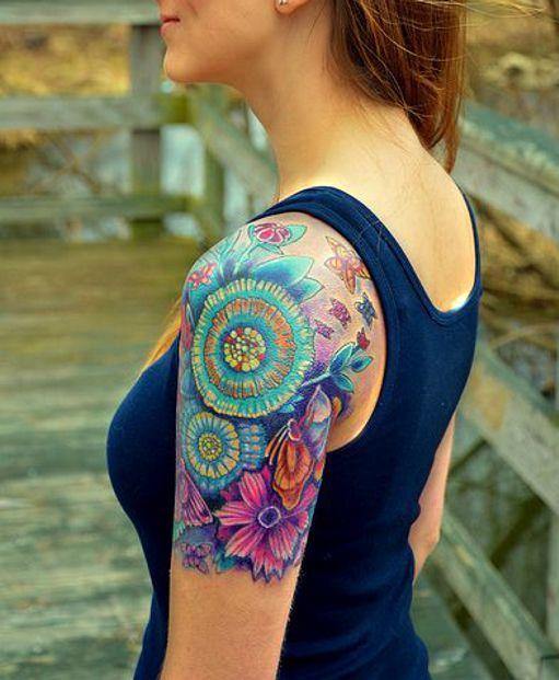 flowers tattoos  #flowertattoo #tattoo