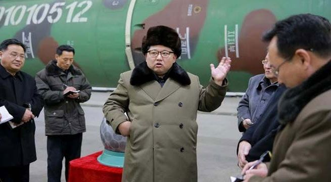 "Seoul: Nuclear-armed North Korea on Wednesday fired a suspected missile into the Sea of Japan, South Korea's defence ministry said.  সাত সকালেই কিমের মিসাইলে গরম দুনিয়া ""North Korea fired an unidentified projectile into the Sea of Japan this morning from (the eastern port of)..."