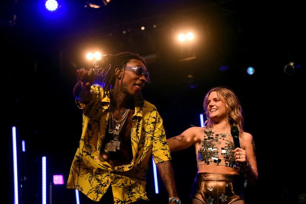 Wiz Khalifa Photos Photos - Rapper Wiz Khalifa and singer Tove Lo perform on the Mojave stage during day 3 of the Coachella Valley Music And Arts Festival (Weekend 1) at the Empire Polo Club on April 16, 2017 in Indio, California.  (Photo by Emma McIntyre/Getty Images for Coachella) * Local Caption * Tove Lo; Wiz Khalifa - 2017 Coachella Valley Music and Arts Festival - Weekend 1 - Day 3