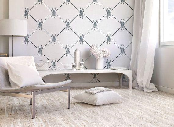 geometric wallpaper peel and stick temporary wallaper removable wallpaper washable wallpaper
