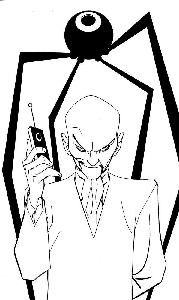 jonny quest the robot spy | Mike Hawthorne: Comic Twart art blog, Jonny Quest's DR. ZIN