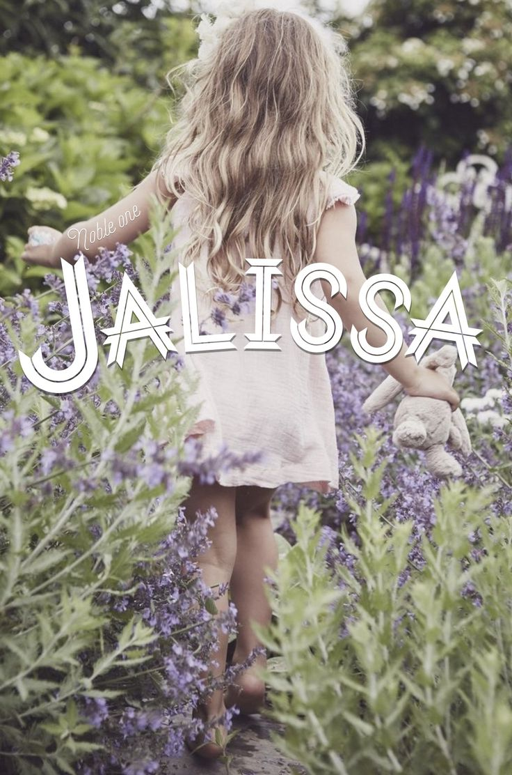 Jalissa, name meaning: noble one