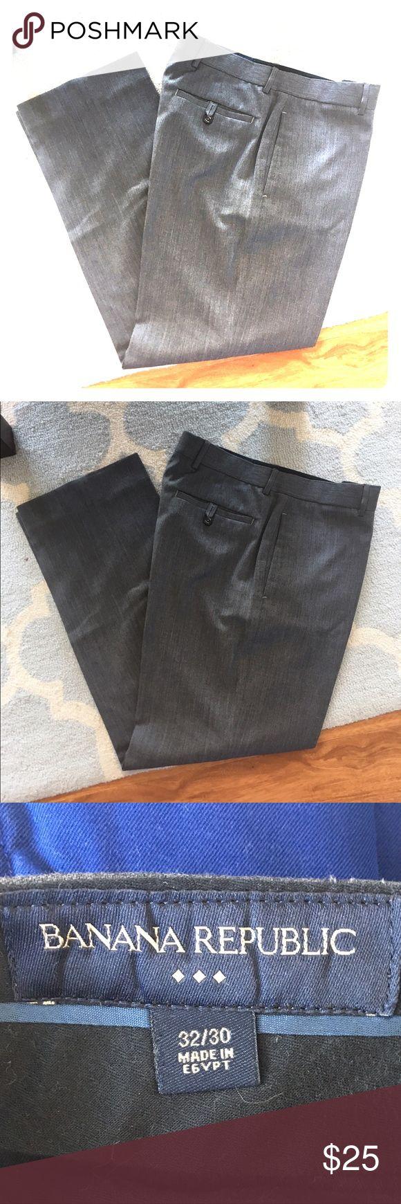 Banana republic 32x30 dark grey dress pants Banana Republic Factory Outlet dark gray dress pants. Standard Fit. Excellent used condition. 32x30. Banana Republic Pants Dress