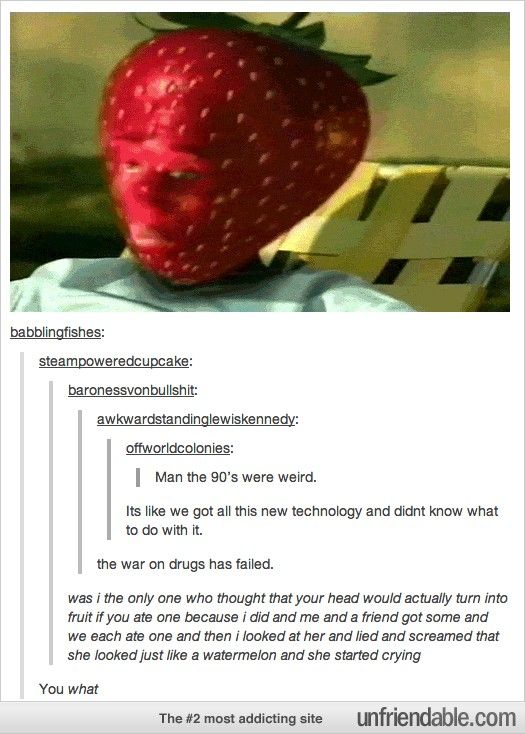 Tumblr - You what? OMFG I THOUGHT THAT TOO SO I WAS SCARED TO EAT THEM