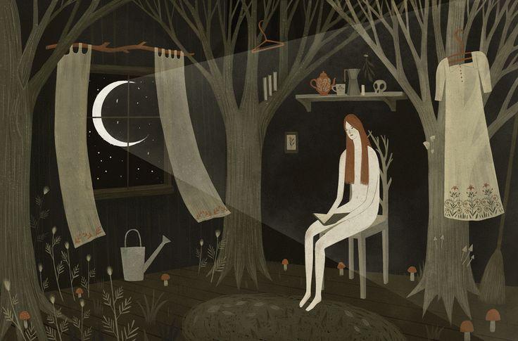 Lovingly Animated Woodland Scenes by Alexandra Dvornikova