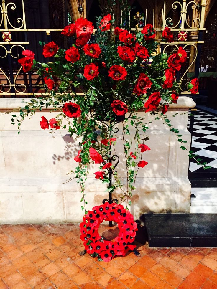Remembrance Sunday at St Michael And All Angels Croydon