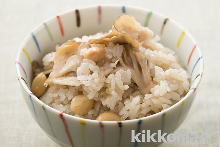 大豆ときのこの炊き込みご飯のレシピをご紹介。まいたけと大豆と米を使って簡単お手軽に調理できます。炒め物や煮物から揚げ物まで様々な献立レシピを簡単検索!お弁当や健康(ダイエット)レシピもご用意しています。キッコーマンのレシピサイト【ホームクッキング】