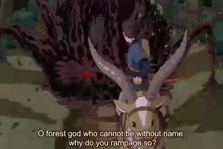 Princess mononoke movie english subbed animecross