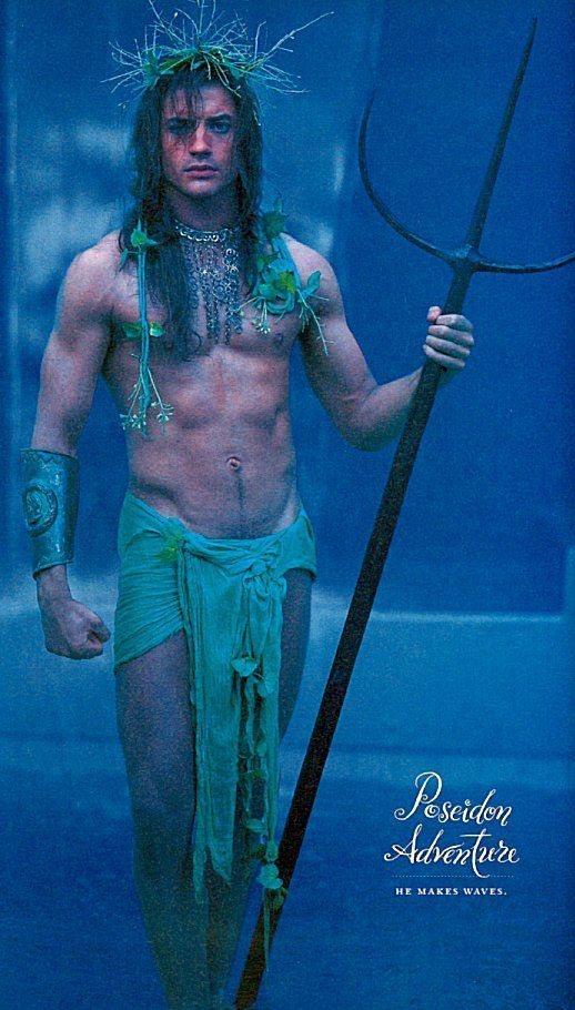 neptune poseidon male makeup - Google Search