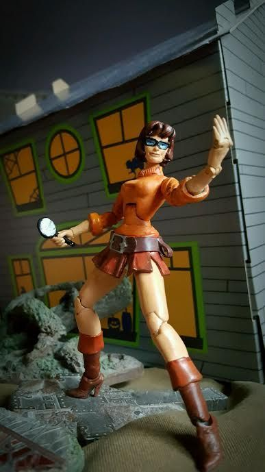Velma Dinkley (Scooby Doo) Custom Action Figure