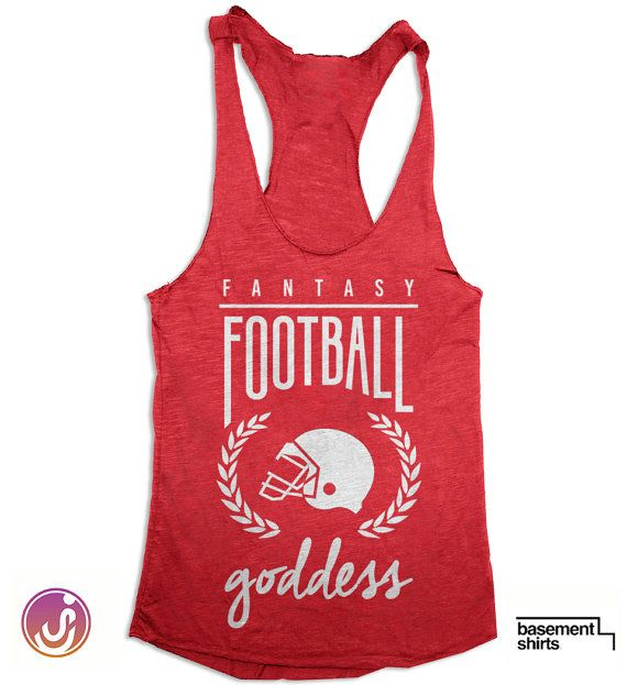 Fantasy Football Goddess - Ladies Football Tank Top