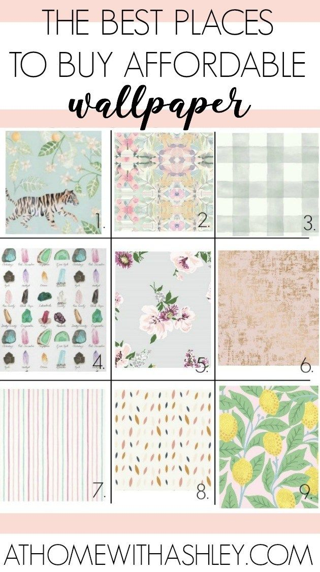 The Most Affordable Places To Buy Wallpaper Affordable Wallpaper Stick On Wallpaper Wallpaper Accent Wall