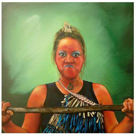 Poutama - Theresa Reihana http://maoriartist.com/gallery/poutama/