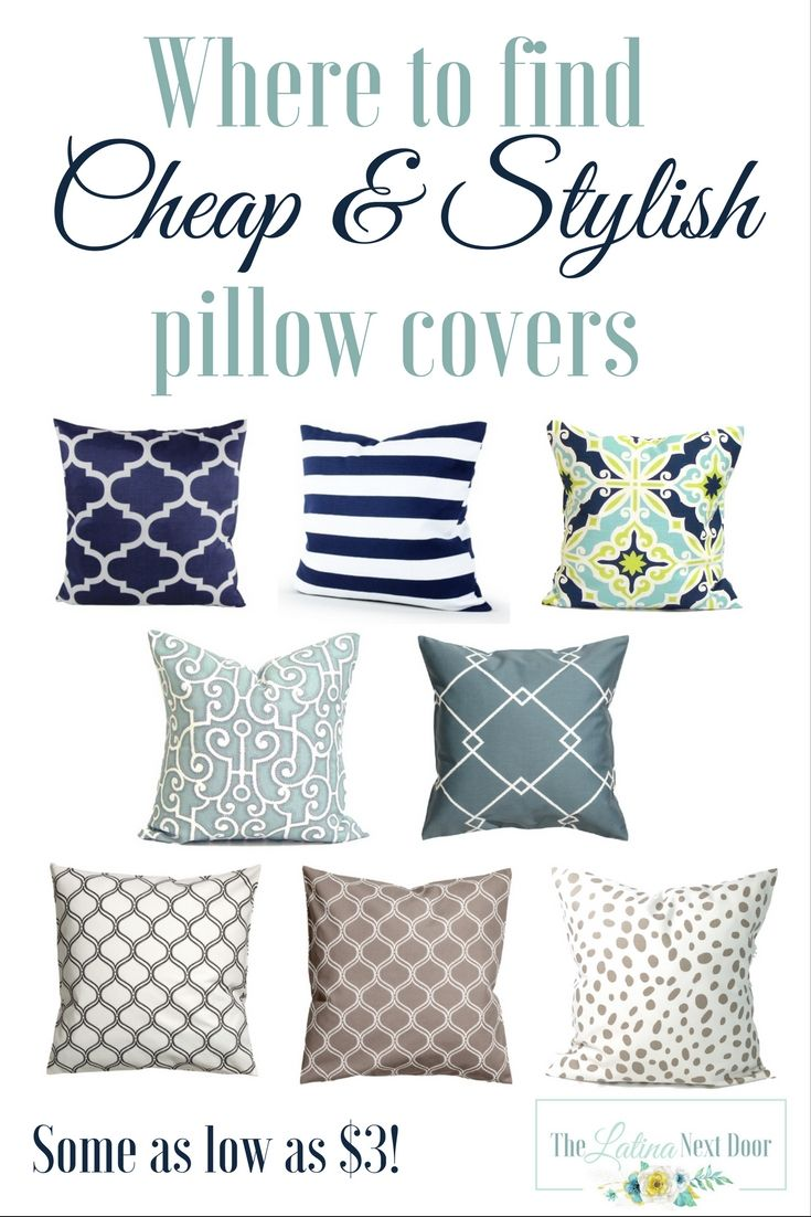 The BEST places to find cheap pillow covers and honest reviews!