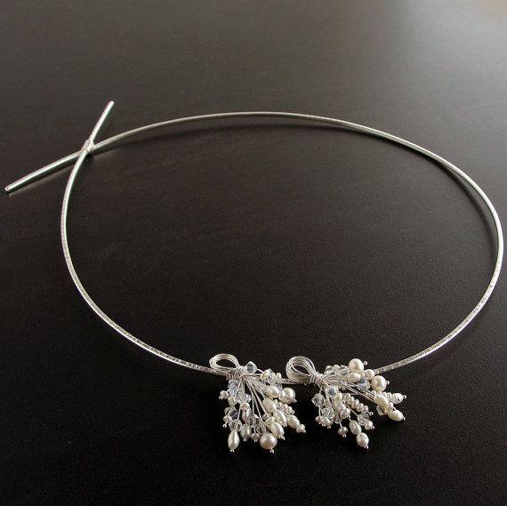 Stefana with pearls & orginal swarovski crystals by emmanuelaGR