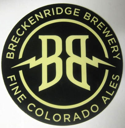 Beer sticker breckenridge brewery