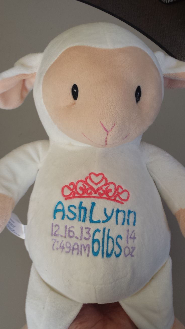 Order A Personalized Embroidered Cubbie! $35 And Free Shipping! Order By  Emailing Digitizing@