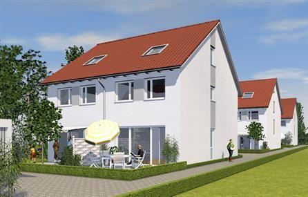 Moderne doppelhaush lfte in kenzingen am wonnentalerweg for Hausformen einfamilienhaus
