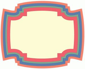 Silhouette Design Store - View Design #40942: stacked label shapes