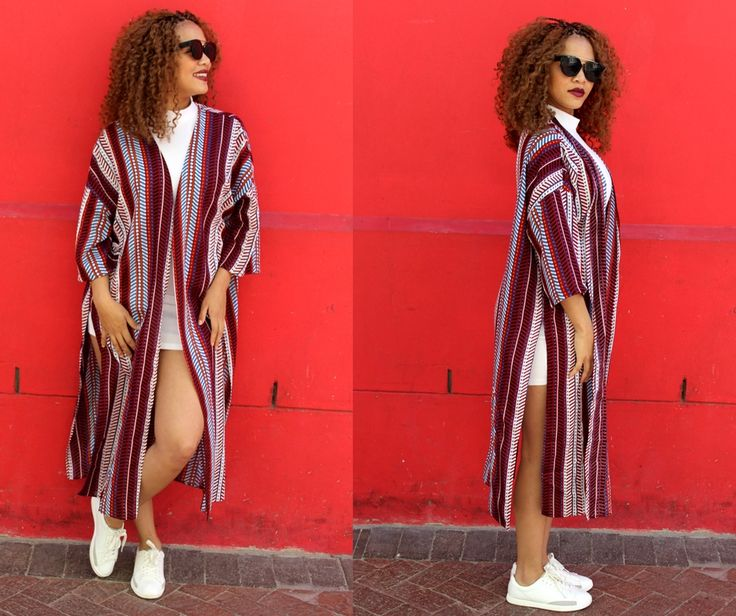 Look super cool and funky  in this lightweight printed kimono ! Shop via @thefashionlott !