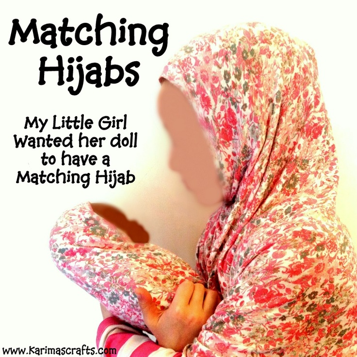 This is an awesome idea Karima thanks for posting this on your blog. I am going to do these for my neices. DIY Praying Hijab Tutorial and one for dolls too! Karima's Crafts