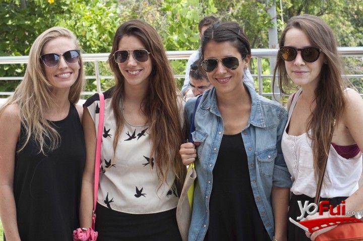YoFui.com: Francesca Pavissich, Camila Rios, Juanita Gatica, Isidora Cousiño en H Showroom, Tienda H, Santiago (Chile)