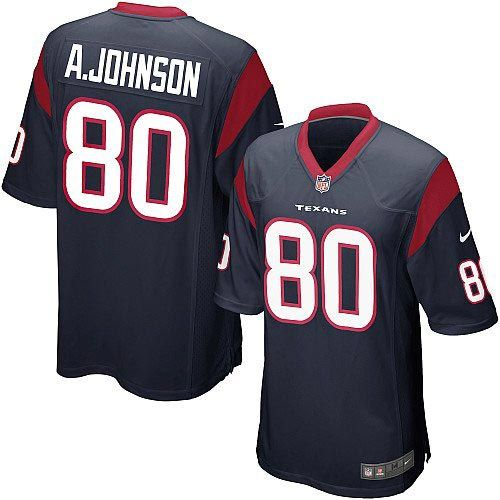 Shop for Official Youth Nike Houston Texans Andre Johnson Elite Team Color  Navy Blue Jersey. Get Same Day Shipping at NFL Houston Texans Team Store.