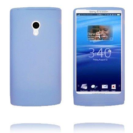 Soft Shell (Blå) Sony Ericsson Xperia X10 Deksel