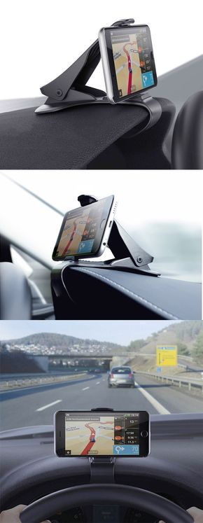 Presale Price: US$6.99 + Free shipping. Due to arrive on April 29 2017.Universal non-slip dashboard car mount holder, adjustable for iPhone iPad Samsung GPS Smartphone.
