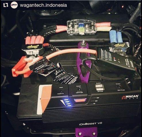 @Wagantech Indonesia office testing the new iOnBoost V8+ #7503 ・・・ Testing on Toyota Innova VVT-I. ・・・ #jumpermobilkeren #jumpermobilunik #jumpermobil #12voltcarjumper #12voltcar #wagan #wagantech #wagantechindonesia #powerbank #powercars #powercar #carjumpers #carjumpstarter #carjumper #innovationpower #jumpermobilbagus #jumpermobiljakarta #jumpermobilindonesia #jumper $#booster #lithiumion #powerbank #jumpstarter #jumpstart #allinone