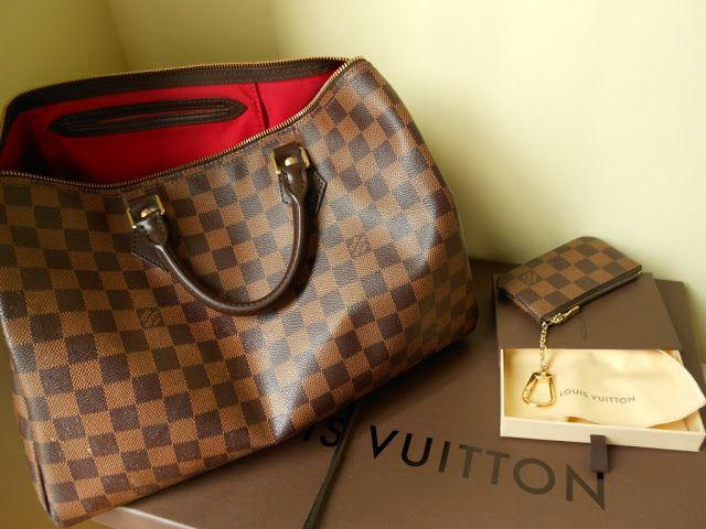 Fashion Is My Drug  Louis Vuitton Speedy Damier Ebene   Louis ... d420a613e5c