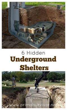 Top 25 ideas about underground shelter on pinterest for Hidden storm shelter