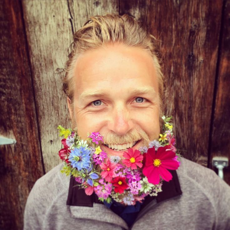 Flower beard - summer flowers - grown and designed by Flathead Farmworks