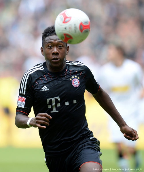 David Alaba a bright young talent in the Bundesliga