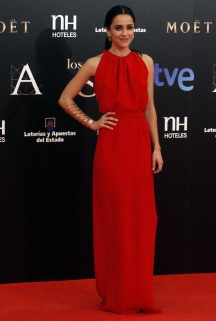 Macarena García es una de las nominadas a mejor actriz revelación por su papel en Blancanieves, la película que acapara 18 nominaciones y parte como gran favorita de esta noche