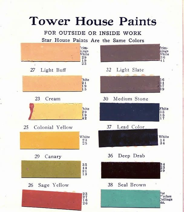 17 Best Images About Heritage Paint Colors Mostly 1900 39 S On Pinterest Paint Colors House